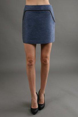 Hanii Y Mini Skirt in Blue