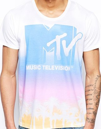 Solid !Solid T-Shirt With Mtv Print