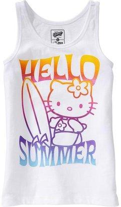 Hello Kitty Girls Graphic Tanks