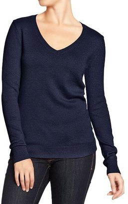Old Navy Women's Classic V-Neck Sweaters
