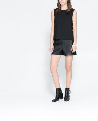 Zara Top With Pierced Sides