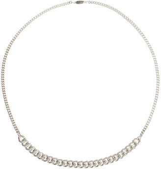 Pilgrim Chunky Chain Rope Link Necklace