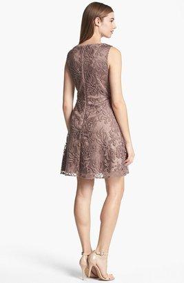 Adrianna Papell Soutache Dress