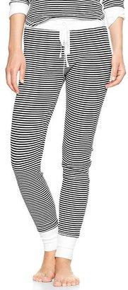 Gap Ribbed stripe leggings
