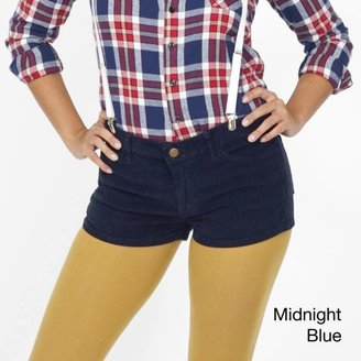 American Apparel Women's Corduroy Short Shorts $36.99 thestylecure.com