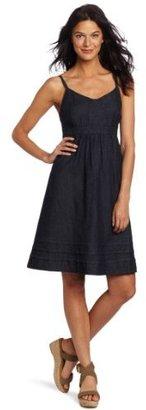 Calvin Klein Jeans Women's Petite Denim Sweetheart Dress