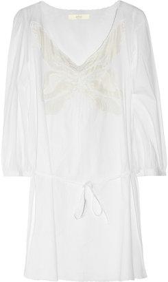 Vanessa Bruno Embroidered cotton mini dress