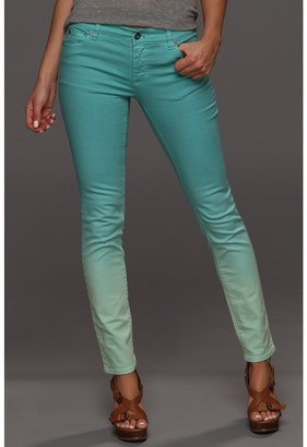 Vince Camuto TWO by Dip-Dye Skinny Jean in New Mint (New Mint) - Apparel