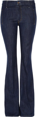 Mother The Drama high-rise flared jeans