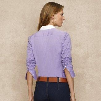 Ralph Lauren Blue Label Hempstead Cotton Shirt