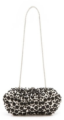 Santi Dotted Clutch