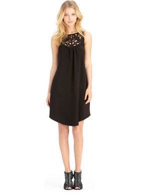 Rachel Roy Lazer Cut Dress