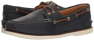 Sperry Gold Cup A/O 2-Eye (Navy 1) Men's Slip on Shoes