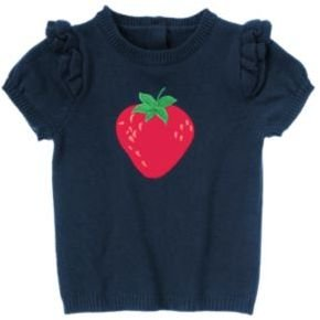 Crazy 8 Strawberry Sweater Top