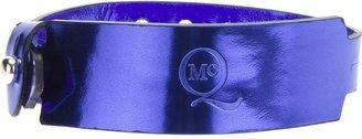 McQ by Alexander McQueen logo embossed bracelet