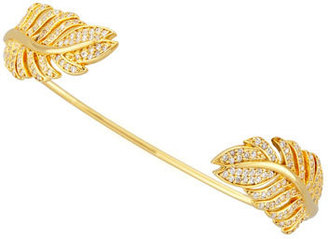 Tai Yellow Gold Plated Feather Pinch Bracelet