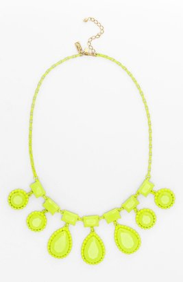 Kate Spade 'painted Jewels' Bib Statement Necklace