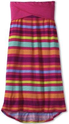 Splendid Littles Carnvial Stripe Maxiskirt (Big Kids) (Funnel Cake) - Apparel