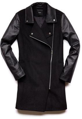 Forever 21 Moto-Inspired Trench Coat