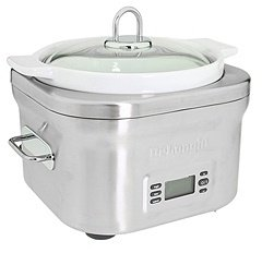 De'Longhi DeLonghi - DCP707 5-Quart Stainless Steel Slow Cooker (Stainless Steel) - Home
