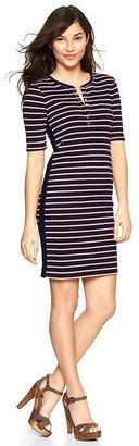 Gap Stripe henley dress