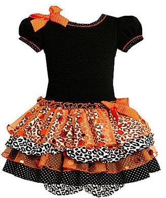 Bonnie Baby 3-9 Months Halloween Tiered Dress