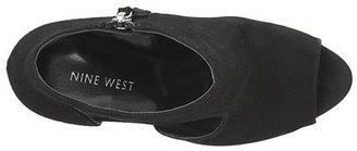 Nine West Texxy Peep-Toe Platform Booties