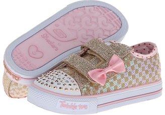Skechers Shuffles - Sweet Step Lights 10284N (Toddler/Little Kid)