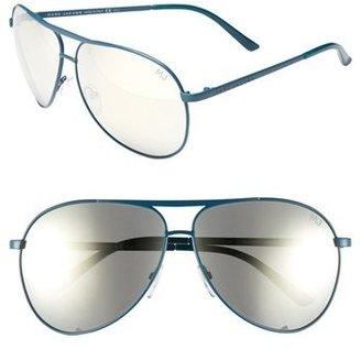 Marc Jacobs 'Signature' 62mm Metal Aviator Sunglasses