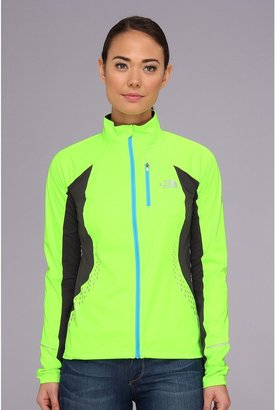 The North Face Apex Lite Jacket (Safety Green/Asphalt Grey) - Apparel