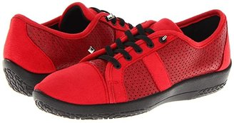 ARCOPEDICO Leta (Red) Women's Lace up casual Shoes