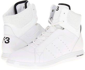 Yohji Yamamoto Rade High (Running White/Running White/Black) - Footwear