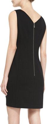 Nanette Lepore Diary Applique-Panel Ponte Dress