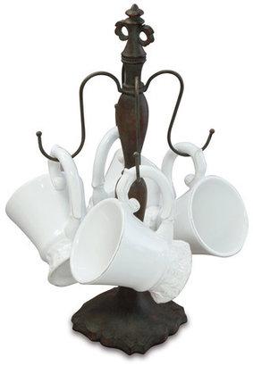 Isaac Mizrahi Chateau Mug And Tree Set 5Pc