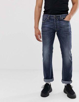 Diesel Safado straight fit jeans in 0885JK grey