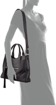 Elizabeth and James Andie Leather Satchel Bag, Black
