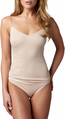 Hanro Cotton Seamless Camisole, Skin