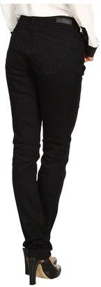 Calvin Klein Jeans Powerstretch Curvy Skinny Denim in Black $69.50 thestylecure.com