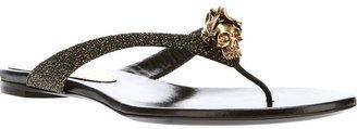 Alexander McQueen skull detail sandal