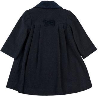 Florence Eiseman Classic Pea Coat, Navy, 12-24 Months
