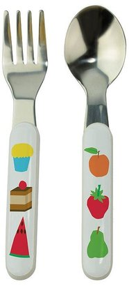 Eric Carle The world of fork & spoon set by kids preferred