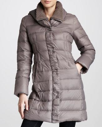 Elie Tahari Olivia Packable Puffer Coat