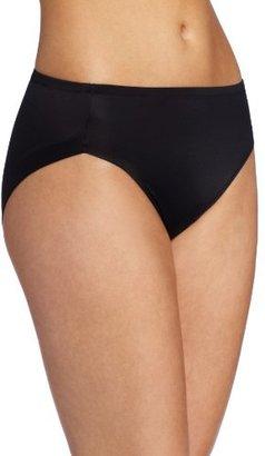 Warner's Women's No Wedgies No Worries Hi Cut Brief Panty $10.50 thestylecure.com