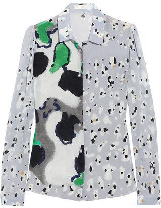 Michael Van Der Ham Printed silk shirt