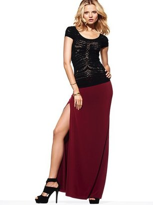 Victoria's Secret Double-slit Maxi Skirt