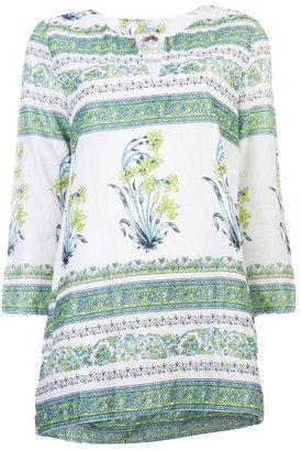 Calypso Lulu printed tunic