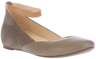 See by Chloe Ankle strap ballet pump