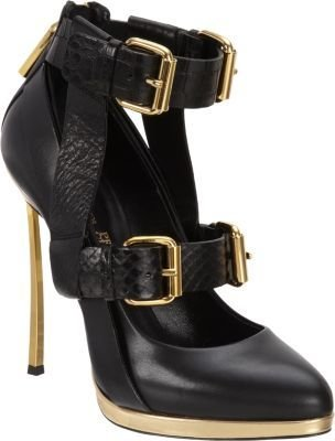 Prabal Gurung Double Buckle Strap Pump