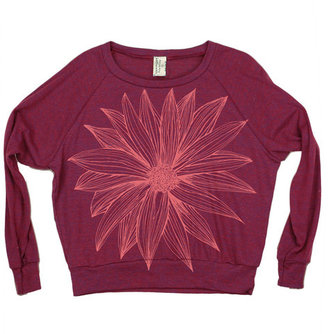 Supermaggie Big Flower Pullover Women's