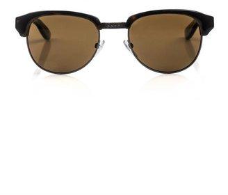 Bottega Veneta Tortoiseshell and metal sunglasses